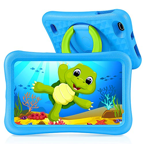 "VANKYO MatrixPad S8 Kids Tablet 8 inch, 2GB RAM, 32GB ROM, Kidoz Pre Installed, 8"" IPS HD Display, Android OS, WiFi Tablet, Kid-Proof, Blue"
