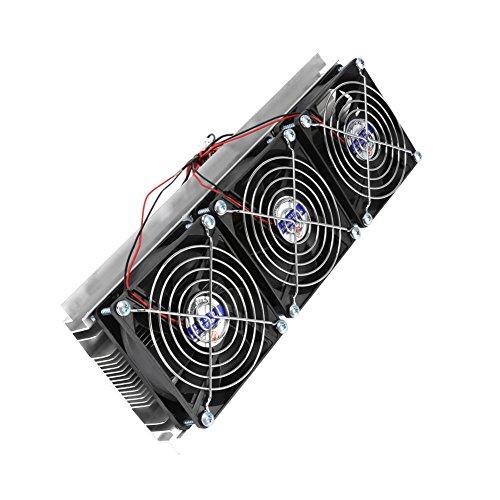 Refrigerador termoeléctrico de tres núcleos de 180 W sin vibración para enfriar espacios pequeños con electricidad