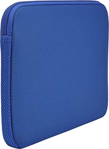 Case Logic LAPS Notebook Hülle für 17,3 Zoll Laptops (ultraschmales Sleeve, ImpactFoam Schaumpolsterung für Rundumschutz, Laptop Tasche ideal für Chromebook oder Ultrabook), Ion Blue