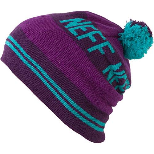 NEFF Bonnet Pompon Classic Purple