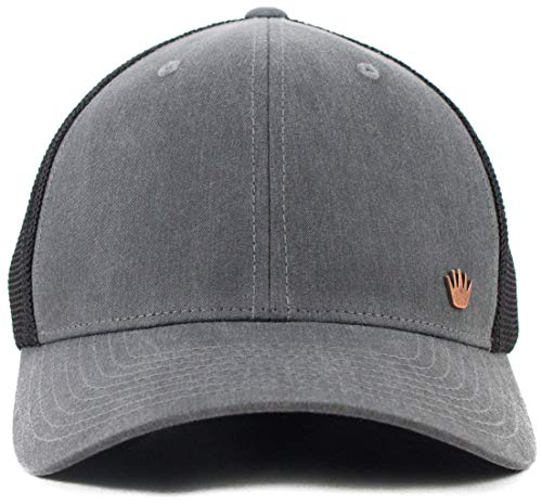 No Bad Ideas Ashby Flexfit Hat Gry (S/M) Gray