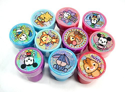 Disney Mickey and Minnie Clubhouse Cuties Self-Inking 10pc Stamps Party Favors