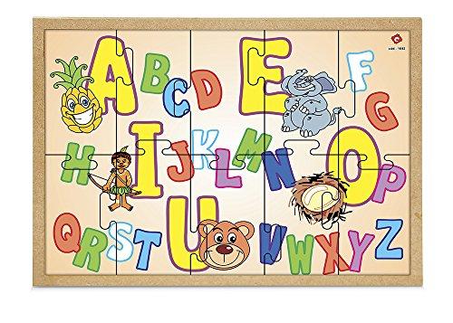 Carlu Brinquedos - Quebra-Cabeça, 4+ Anos, 10 Peças, Color Multicolorido, 1643