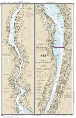 Synthetic Media NOAA Chart 12343: Hudson Wappi to New outlet Shipping Free River York