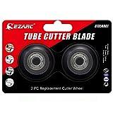 EZARC - Cuchilla de repuesto para cortador de tubos grandes para tubos de aluminio, cobre, PVC, tubo de acero inoxidable fino