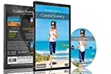 Fitness Journeys - Coastal Scenery ,for indoor walking, treadmill and cycling workouts