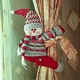 Babbo Natale pupazzo di neve 34*27cm/13.39* 10.63in 42*22cm/16.54* 8.66in Elk 42*22cm/16.54* 8.66in Materiale: panno Arrotolare e fissare tenda o altre cose Cute design bello e pratico. Si tratta di un piccolo articolo che è molto buona per ...