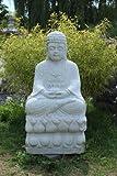 Diseño de estilo de vida grande, piedra de mármol Buda tibetano