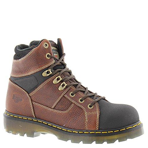 Price comparison product image Dr. Martens Unisex Ironbridge Tec-Tuff Steel Toe 8-Tie Boot Teak Pitstop 9 M UK