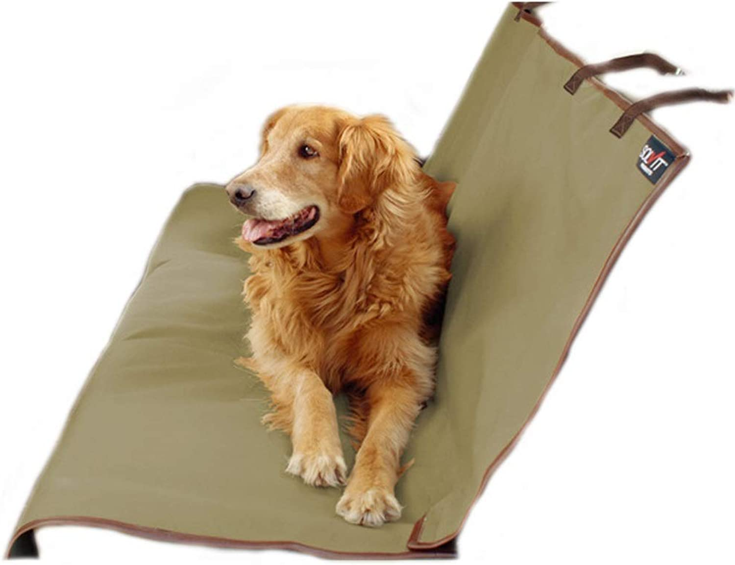 REMIGHTELY BRIGHT Pet Rear Car Seat Predection Pad  Waterproof Oxford Cloth, Can Be Used for Pet Travel (color   GREEN, Size   142  119cm)