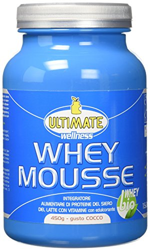 Ultimate Italia Whey Mousse, Cocco - 450 g