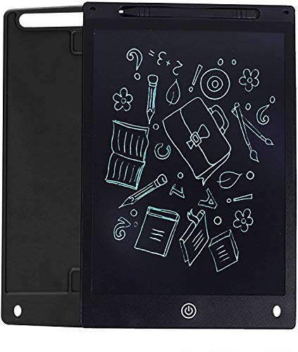 GROSSē LCD Writing Tablet, 12 Inch bright Electronic Drawing Board Graphic Tablets with Memory Lock, Handwriting Paperless Notepad Suitable for Home Job School Office Blackboard