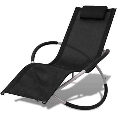 Vidaxl Sonnenliege Stahl Gartenliege Liegestuhl Relaxliege Strandliege Liege Amazon De Kuche Haushalt
