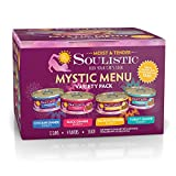 Soulistic Moist & Tender Mystic Menu Variety Pack Wet Cat Food, 5.5 oz., Count of 12