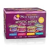 Soulistic Moist & Tender Mystic Menu Variety Pack Wet Cat Food, 5.5 oz., Count of 12