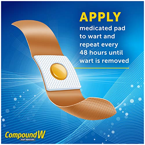 Compound W Wart Remover Maximum Strength One Step Pads, 14 Medicated Pads