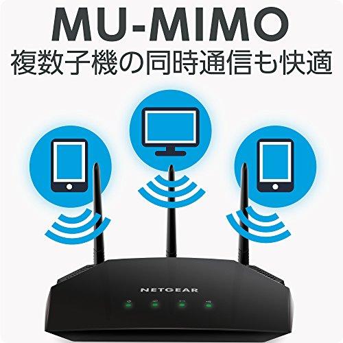 『NETGEAR WiFiルーター 無線LAN AC1700 速度 1450+300Mbps R6350』の2枚目の画像