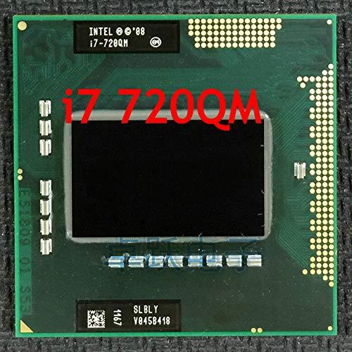 CPU Laptop i7-720QM 6M Cache 1.6GHz to 2.8GHz i7 720QM SLBLY PGA988 45W Laptop Compatible PM55 HM57 HM55 QM57