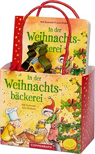 In der Weihnachtsbäckerei: Geschenkset: Buch mit Ausstechförmchen: Geschenkset: Buch mit Ausstechfrmchen