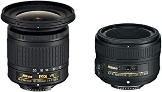 Amazon Exclusive Nikon SLR Lens Kit - 10-20mm +50mm f/1.8