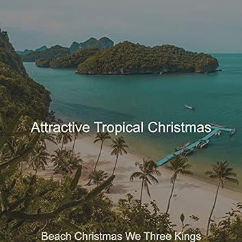 Beach Christmas We Three Kings