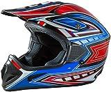 Fuel Helmets SH-OR3016 Adult Off-Road Helmet, Multicolor, Large