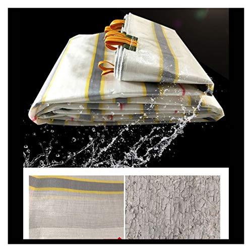 GAOYUY Lona Resistente, Cubierta De Polietileno para Suelo Cubierta De Lona Plegable Ligera Portátil para Camiones Coche Al Aire Libre (Color : Colorful, Size : 5.3X6.7M)