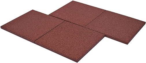 Piastrelle anticaduta in gomma rosso/nero festnight (24 pezzi) RSQ9466440705543WT