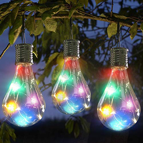 LED Solar Hanging Lamp 1 Piece $7.77 (80% OFF Coupon)