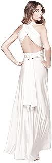 JET-BOND Infinity Night Dress Multi-Way Wrap Camisoles Halter Maxi Floor Long Dress High Elasticity FS41