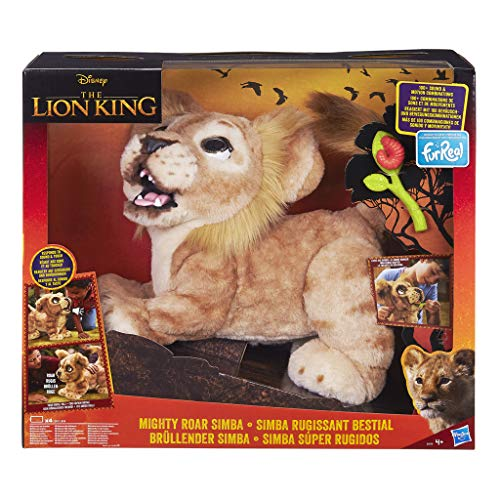 furReal Brüllender Simba, König der Löwen, interaktives Plüschspielzeug