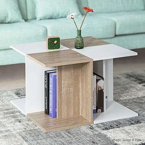 Mesa de café Cuadrada de Madera para Sala de Estar, Muebles, Muebles, Muebles, Muebles de salón