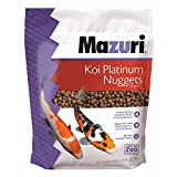 Mazuri Koi | Platinum Nuggets Nutritionally Complete Koi Fish Food | for Medium Koi - 3.5 Pound (3.5 lb.) Bag