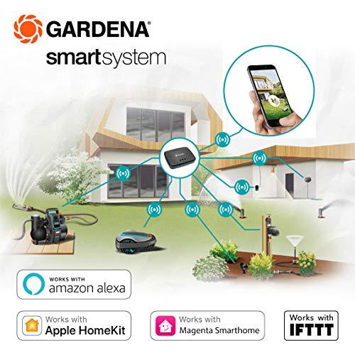 GARDENA smart SILENO city Set 300: Mähroboter bis 300 m² Rasenfläche steuerbar per App - 4