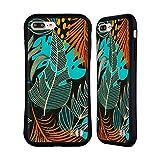 Head Case Designs Oficial Haroulita Orange Hojas 2 Carcasa híbrida Compatible con Apple iPhone 7 Plus/iPhone 8 Plus