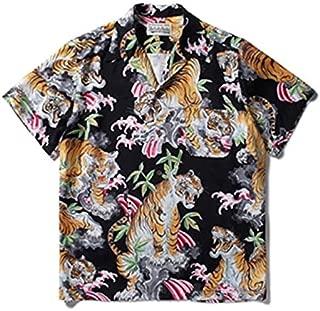 WACKO MARIA ハワイアンシャツ Sサイズ アロハシャツ シャツ 半袖 TIM LEHI ティム リーハイ コラボ