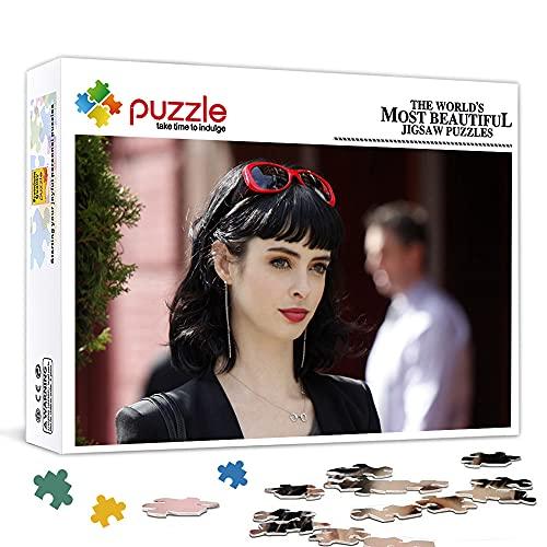 1000 piezas de rompecabezas para adultos Jessica Jones Juego de póster de rompecabezas desafiante, 75x50cm Juego de rompecabezas para niños 1000