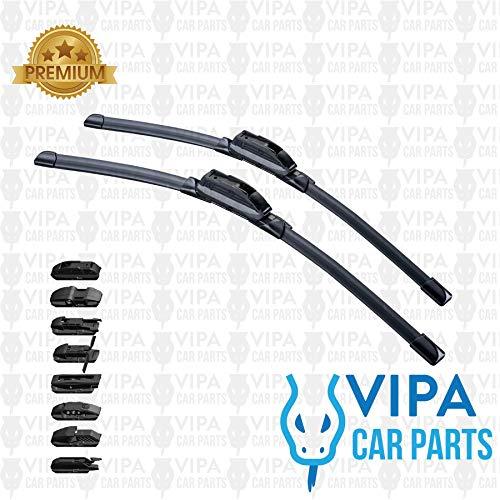 Preisvergleich Produktbild Vipa Car Parts® Wischerblatt-Set,  66 + 16 cm,  2 Wischerblätter