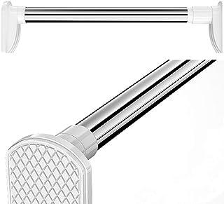 U-POWEX 突っ張り棒 つっぱり棒 強力 室内物干し 浴室用ステンレ用品 ス超強力伸縮棒 耐荷重1~50kg 多機能強力太タイプ お風呂 新生活 付日本語説明書 優れたステンレス鋼 (70-120CM)