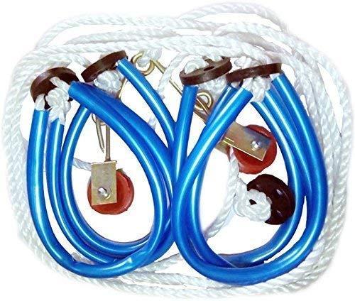 NEO VICTORY™ Top Hero Metallic Pocket Rope Gym Exerciser/Exercise Rope/Tummy Trimer - Unisex
