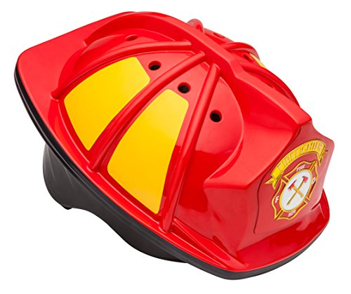Schwinn Kids Bike Helmet with 3D Character Features, Infant and Toddler Sizes, Toddler, Fireman