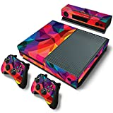 Gam3Gear Pattern Series Decals Skin Vinyl Sticker for Xbox ONE Console & Controller (NOT Xbox One Elite / Xbox One S / Xbox One X) - Kaleidoscope v2
