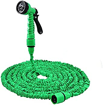 Kuovexs 50ft Expandable Kink-Free Flexible Garden Hose