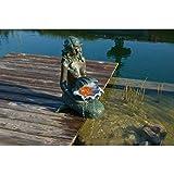 Ubbink KED Wasserspiel mit Pumpe 16W Springbrunnen Gartenbrunnen Brunnen