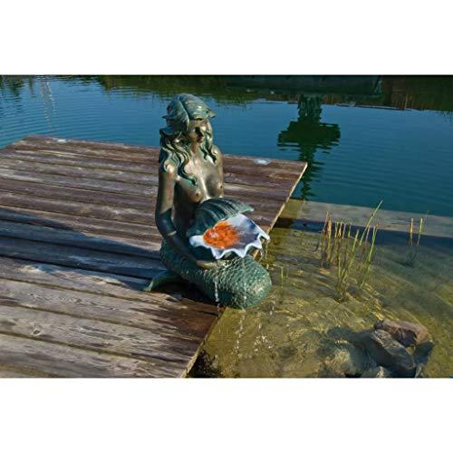 Ubbink Fontaine de Jardin Sirene Oslo eclairage LED 1386064