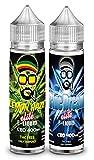 2X 50ml cbd 400mg   Blue Dream Elite + Lemon Haze Elite   Sabor de maryiuana con terpenos Naturales - Liquido para Cigarrillo electronico E-Liquid SIN NICOTINA no nicotina no Tabaco