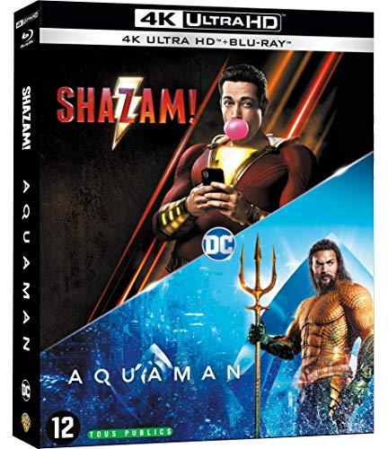 Aquaman + Shazam [4K Ultra HD + Blu-Ray]