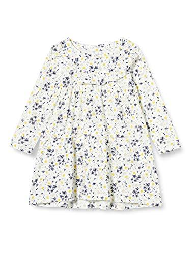 NAME IT Mädchen NMFDAGNE LS Dress Kleid, Snow White, 110