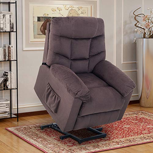 Lift Chairs for Elderly - Lift Chairs Recliners Lift Chairs Electric Recliner Chairs with Remote Control Soft Fabric Lounge