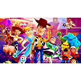 NOOCREAL 5D DIY Diamond Painting Kits for Adults,Woody Full Drill Diamond Art Cross Stitch Wall Decor Toy Story(12X16In/30X40cm)